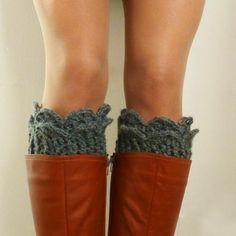 Free Boot Cuff Knit Pattern | Patterns for knit Leg Warmers, Boot Cuff, Cowl Neckwarmer.