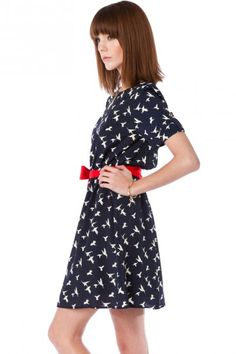 sparrow shirt dress