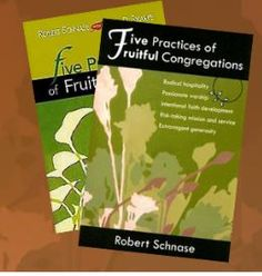 Robert Schnase '5 Practices of a fruitful congregation' ; because there are, in this case 5, clear sections one can be taken each week, although there is so much that can be said for each heading that you could do much more than one week on each. This resource is helpful for how we be a fruitful gathered church community. #5Practices #FruitfulCongregation #schnase