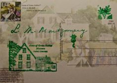 Anne of Green Gables Museum in Park Corner stamps.