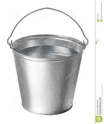 Image result for metal bucket drawing