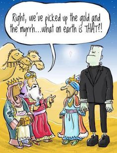 Funny three wise men cartoon - http://www.jokideo.com/
