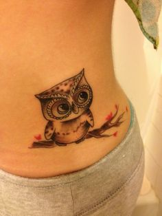 Owl tattoo! Love it better than I expected.