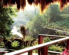 Blancaneaux, Belize.  Francis Ford Coppola's resort in the jungle.