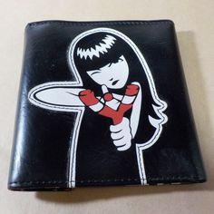 EMILY THE STRANGE wallet slingshot rare