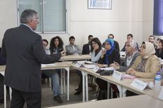 A course at TBS Casablanca