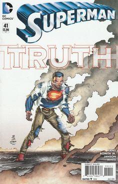 Superman Vol 4 Cover A Regular John Romita Jr Cover Online Comic Books, Comic Books For Sale, Superman News, Superman Comic, Superman Family, John Romita Jr, Midtown Comics, Wonder Woman Comic, Comic Book Superheroes