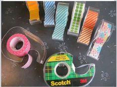 old tape dispenser for washi