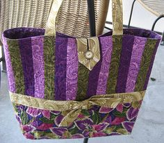 from Moda bakeshop free tutorial - love the purples!