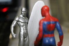 Silver Surfer x Spider Man - By Ivan Amorim