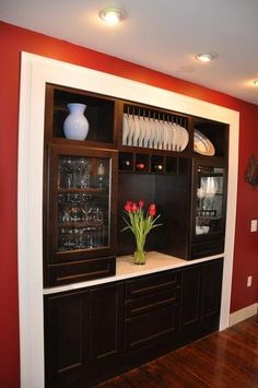 Traditional Kitchen Built In Hutch Design Pictures Remodel Decor And Ideas