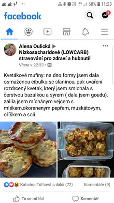 Diet Recipes, Healthy Recipes, Low Carb Diet, Carp, Baked Potato, Healthy Food, Baking, Vegetables, Ethnic Recipes