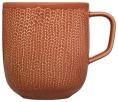iittala Sarjaton Letti Red Clay Mug modern mugs