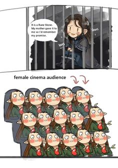 Kili's effect on women<--- so accurate Legolas, Kili And Tauriel, Thranduil, The Hobbit Movies, O Hobbit, I Love The Lord, Lord Of The Rings, Warrior Cats, Bagginshield
