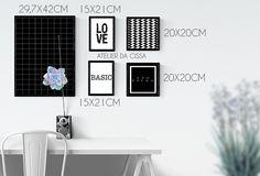 Wall compose by Atelier da Cissa www.atelierdacissa.com.br   #quadros #quadrosdecorativos #wall #wallcompose #love #decoração #decoration #quarto #escritorio #room #arquitetura #casa #sala #parede #atelierdacissa