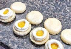 Makrónky, ktoré sa dajú ľahko pripraviť - Mňamky-Recepty.sk Eggs, Breakfast, Recipes, Food, Morning Coffee, Essen, Egg, Meals, Eten
