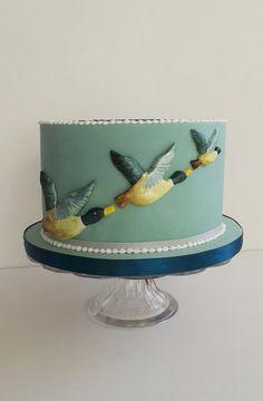 Flying ducks  Cake