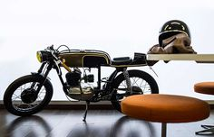 Bultaco Mercurio 155 #caferacer by Gas Department #motorcycles #motos | caferacerpasion.com