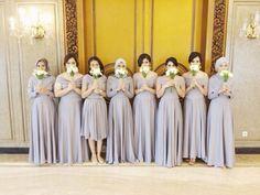 "The ""naked dress,"" seen as the newest rival to the little black dress, is back on the agenda with Kendall … Hijab Dress Party, Hijab Style Dress, Modest Fashion Hijab, Muslim Wedding Dresses, Wedding Gowns, Kebaya Wedding, Kebaya Dress, Dress Pesta, Bridesmaid Inspiration"