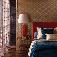 Geometric patterns in warm metallic colours »« Ruhlmann wallpaper/wallcovering