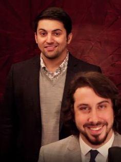 Avi and Mitch from Pentatonix