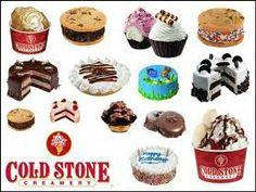 Cold Stone Creamery Omaha Nebraska - The Best Types Of Stone Cold Stone Ice Cream, Ice Cream Day, Best Ice Cream, Cold Stone Creamery, Cookie Pictures, Birthday Pins, Ice Cream Cookies, Chocolate Factory, Cookie Dough
