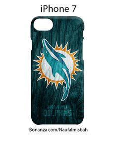Miami Dolphins Custom iPhone 7 Case Cover Wrap Around