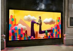 Selfridges Window Display