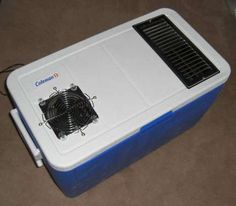 DIY air conditioner...can I please have this for camping