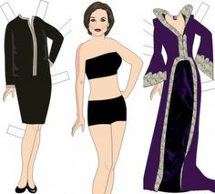 Once Upon a Time Paper Dolls (FREE) Printables #OUAT