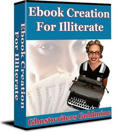 19 best ebook goldmine images on pinterest book cover art book ebook creation for illiterate oco ghostwriters goldmine source httpebookgoldmine fandeluxe Image collections