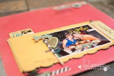 sugar chic memory file as part of a traditional layout - by lindsay bateman