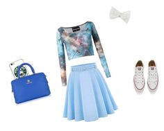 Me #3 by kawii1245 on Polyvore featuring polyvore, fashion, style, Skinbiquini, WithChic, Converse, Roberto Cavalli, Decree and clothing