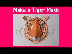 "How to make Elephant Paper Plate Party Masks - ""Paper Art and Craft Ideas"" (English) - YouTube"