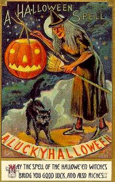 Free Vintage Halloween Cards Cute Kids And Plaques