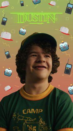 from Stranger WP app fremde dinge wallpaper Stranger Things Netflix, Stranger Things Dustin, Stranger Things Aesthetic, Stranger Things Season 3, Stranger Danger, Don T Lie, Kpop Aesthetic, Best Shows Ever, Best Tv