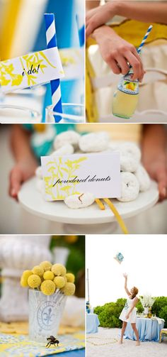 How-to * DIY Dessert Table Bar - http://www.stylemepretty.com/2010/08/04/dessert-table-by-chic-sweets/