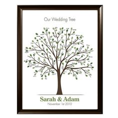fingerprints + empty tree = guestbook. This one is for a wedding, but I like it for our nursery too.   printable tree @lovliday on Etsy ($16)