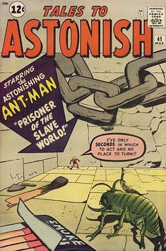 Tales to Astonish # 41 by Jack Kirby & Dick Ayers Best Comic Books, Comic Books Art, Comic Art, Jack Kirby, Comic Book Artists, Comic Book Heroes, Tales To Astonish, Tales Of Suspense, Silver Age Comics
