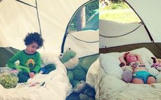 Click through for 7 tips that will have you looking forward to a camping trip with your toddlers!