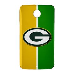 Green Bay Packers Inspired Google Nexus 6 Case Cover