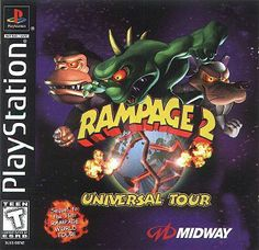 8 Best Rampage Images Rampage Rampage Total Destruction