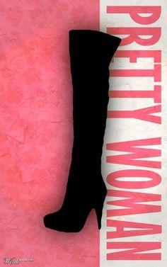 Pretty Woman  Minimalist Movie Poster