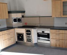 Gangl Ofen Hafnermeister - Steiermark - Gangl Ofen Hafnermeister Steiermark - Herde Kitchen Room Design, Dom, Austria, Modern, Kitchen Cabinets, Retro, House, Home Decor, Outside Wood Stove