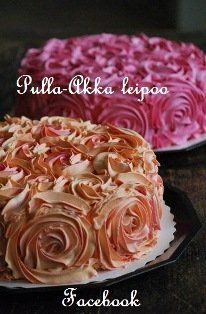 Rosecakes. Not a recipe, but like the design.