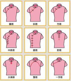 Oriental Fashion, Asian Fashion, Fashion Vocabulary, Cheongsam, Hanfu, Chinese Clothing, Drawing Clothes, Chinese Style, Fashion Sketches
