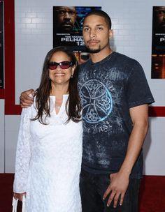 Debbie Allen and son Norm Nixon, Jr.
