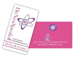 Business card design for DeNea R. Business Card Design, Business Cards, Visit Cards, Carte De Visite