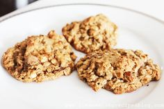 Clean Eating Dessert – Oatmeal Peanut Butter Cookie   Weight Loss Meals and Recipes - Clean Eating Recipes