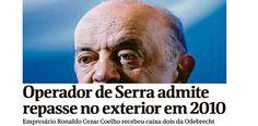 """Fonte: Dinheiro da Odebrecht para Serra já está 'limpinho e cheiroso' – TIJOLAÇO   """"A política, sem polêmica, é a arma das elites."""""""